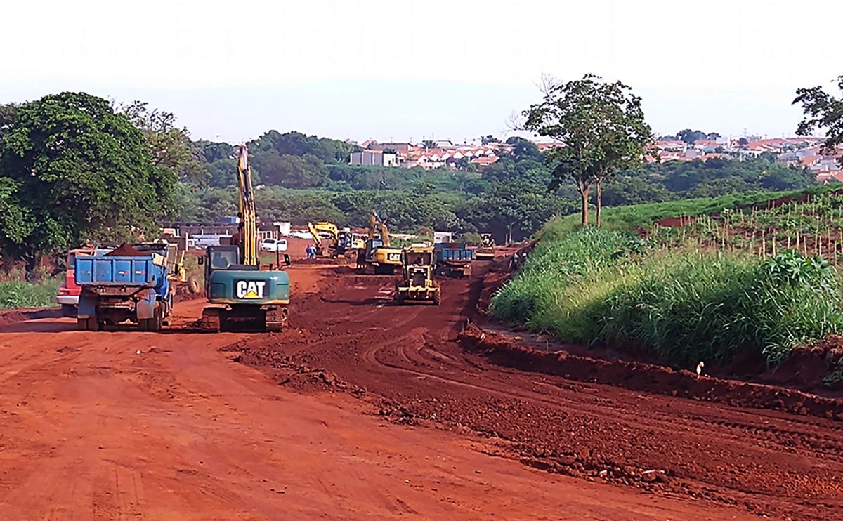 Ruas em construção