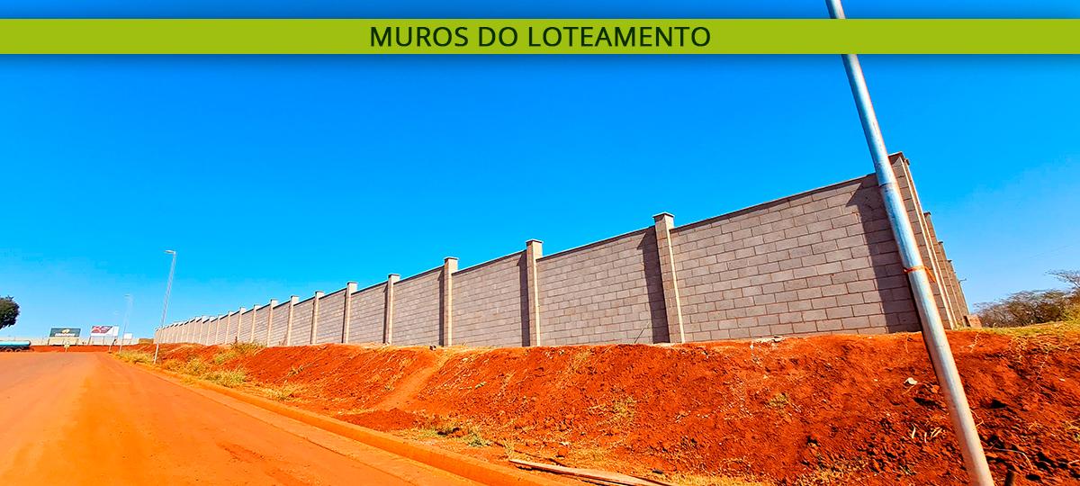 Muros do Loteamento